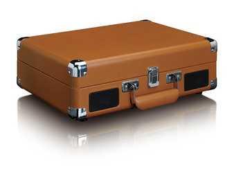 פטיפון LENCO מזוודה עם רמקולים מובנים דגם TT-10BN לנקו - תמונה 5