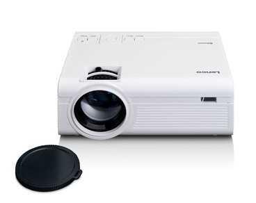 מקרן LCD קומפקטי LENCO דגם LPJ-300WH צבע לבן לנקו - תמונה 2