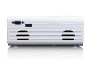 מקרן LCD קומפקטי LENCO דגם LPJ-300WH צבע לבן לנקו - תמונה 7