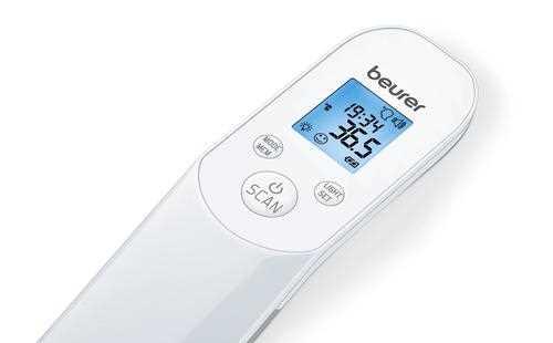 מד חום ללא מגע Beurer דגם FT85 בוריר  - תמונה 3