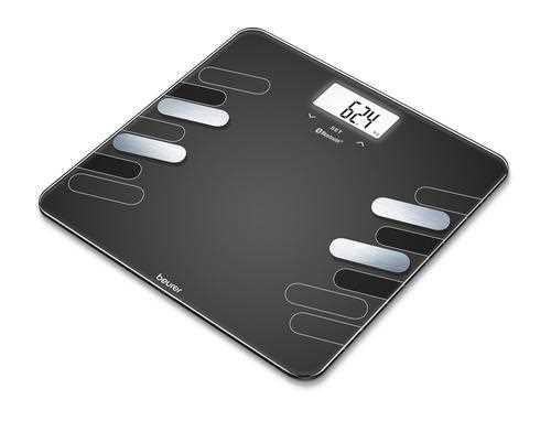 משקל מסוגנן דיאגנוסטי מזכוכית  Beurer BF600 - תמונה 1