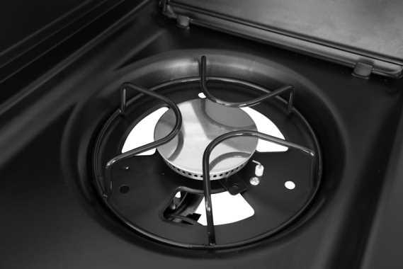 גריל גז AMGAZIT דגם ארבל 4 מבערים עם כירת צד מבית אמגזית - תמונה 4