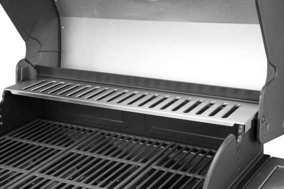 גריל גז AMGAZIT דגם איתן 5B עם כירת צד מבית אמגזית - תמונה 2