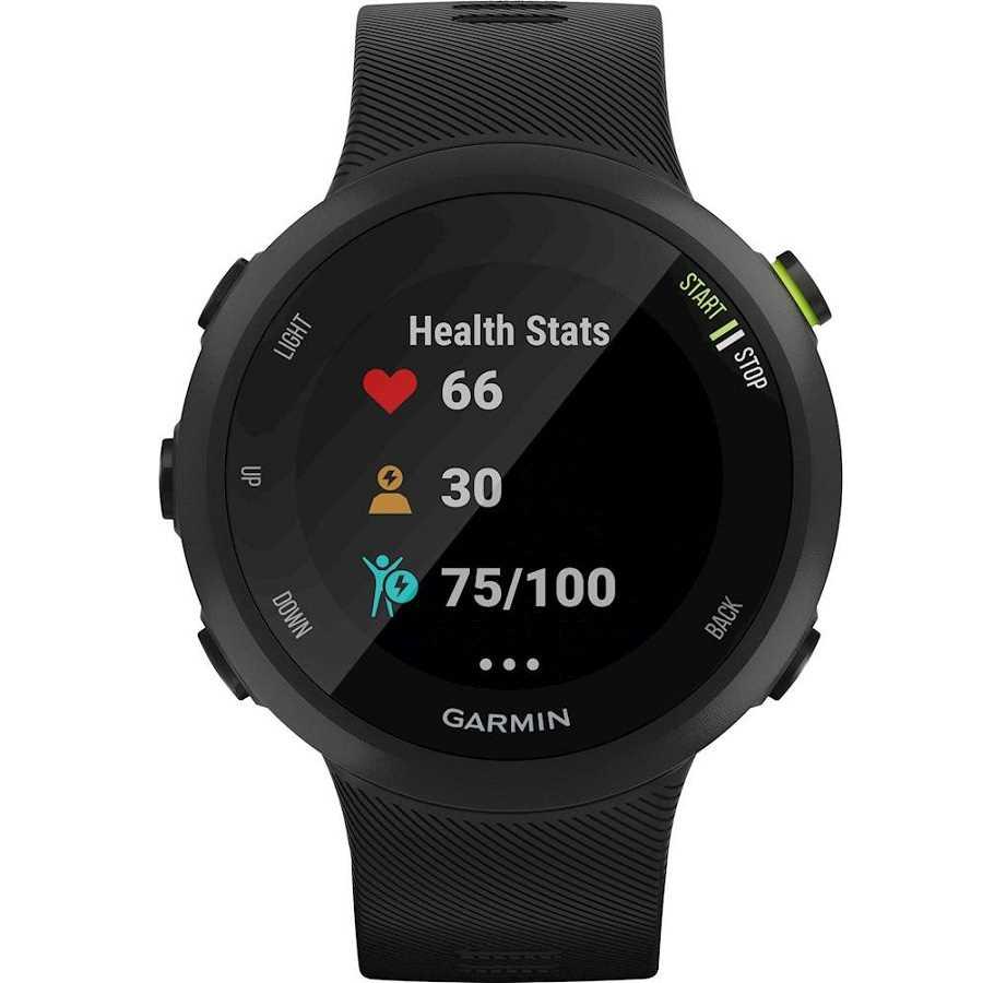 שעון ספורט חכם Garmin דגם Forerunner 45 - שחור - תמונה 2
