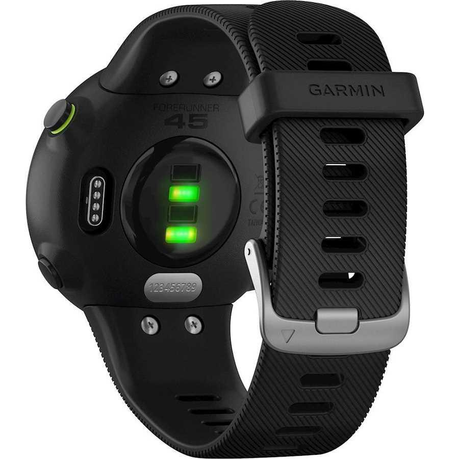 שעון ספורט חכם Garmin דגם Forerunner 45 - שחור - תמונה 4