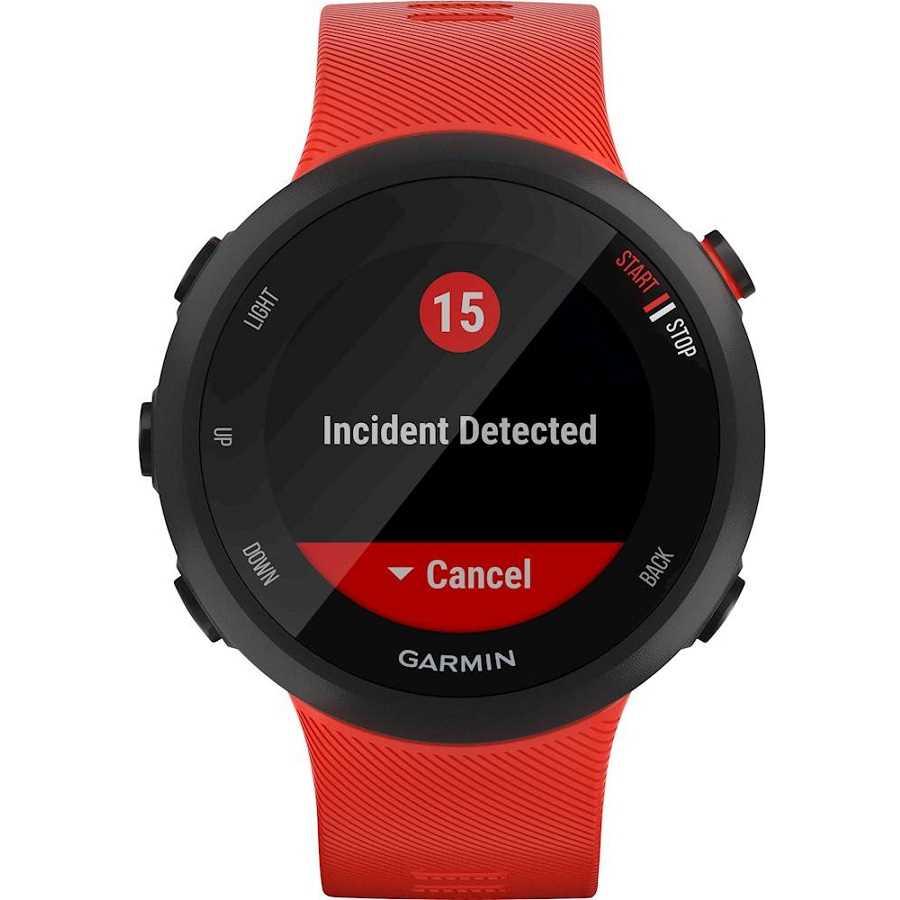 שעון ספורט חכם Garmin דגם Forerunner 45 - אדום - תמונה 7