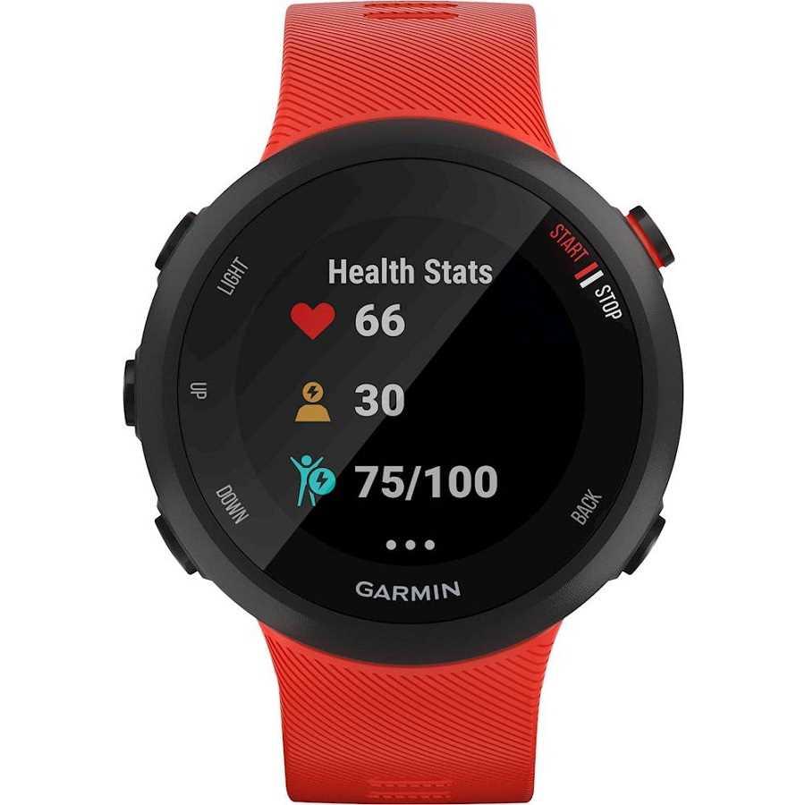 שעון ספורט חכם Garmin דגם Forerunner 45 - אדום - תמונה 2