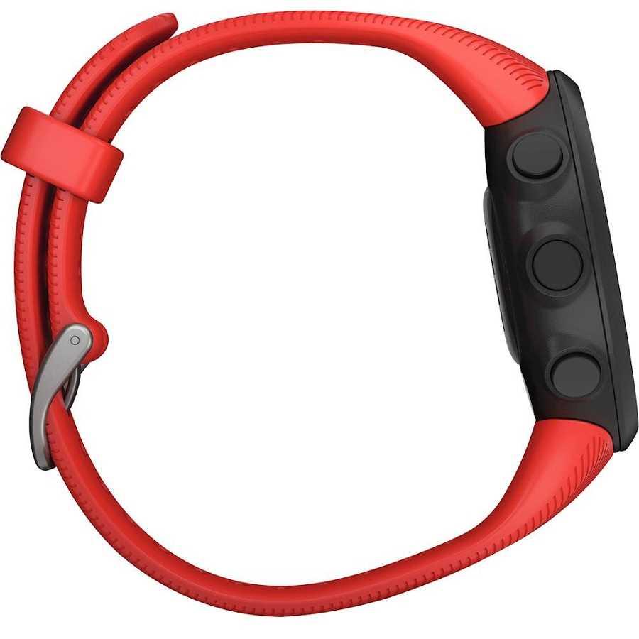 שעון ספורט חכם Garmin דגם Forerunner 45 - אדום - תמונה 5