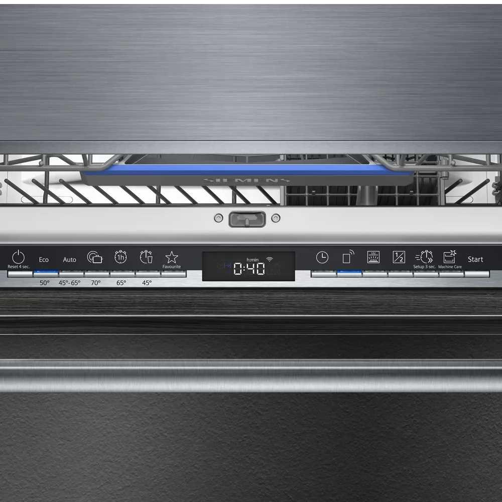 מדיח כלים אינטרגלי מלא Siemens דגם SN63HX52AY סימנס - תמונה 2