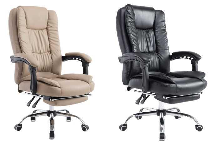 כסא מנהלים ארגונומי GREG כולל הדום נשלף צבע חאקי PRO TECH פרו-טק - תמונה 4