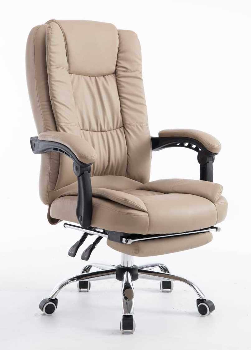 כסא מנהלים ארגונומי GREG כולל הדום נשלף צבע חאקי PRO TECH פרו-טק - תמונה 2
