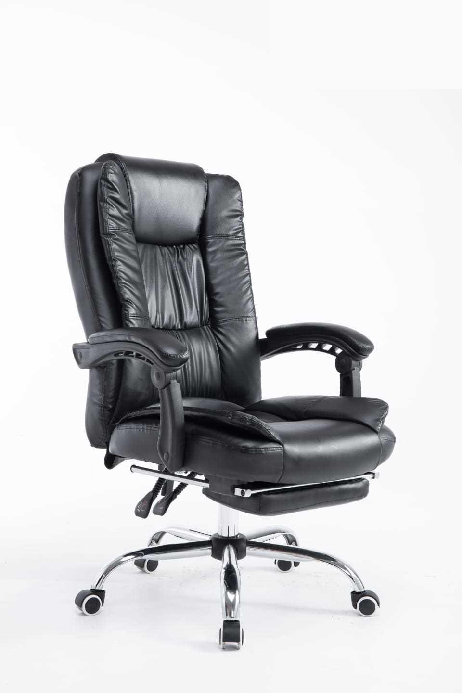 כסא מנהלים ארגונומי GREG כולל הדום נשלף צבע שחור PRO TECH פרו-טק - תמונה 2