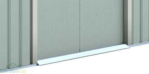 מחסן מתכת פרמיום דגם T78 מידות 2.13X2.55 מבית EverGreen SHED - תמונה 4