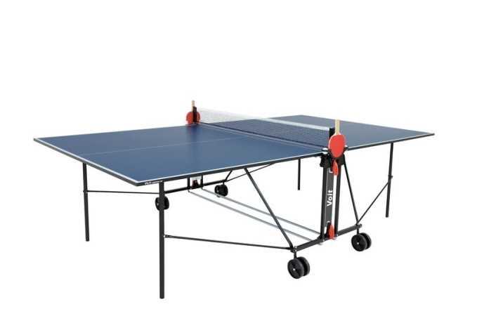 שולחן טניס לשימוש פנים מתקפל מבית VOIT דגם champion100 - תמונה 1