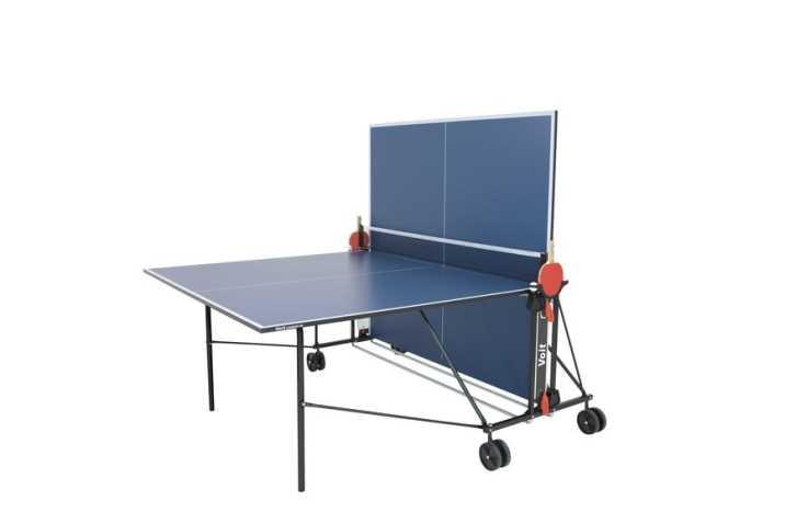 שולחן טניס לשימוש פנים מתקפל מבית VOIT דגם champion100 - תמונה 2