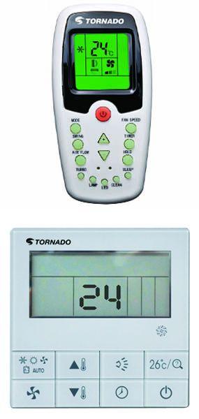 מזגן מיני מרכזי TORNADO טורנדו Legend WD-52 3PH - תמונה 2