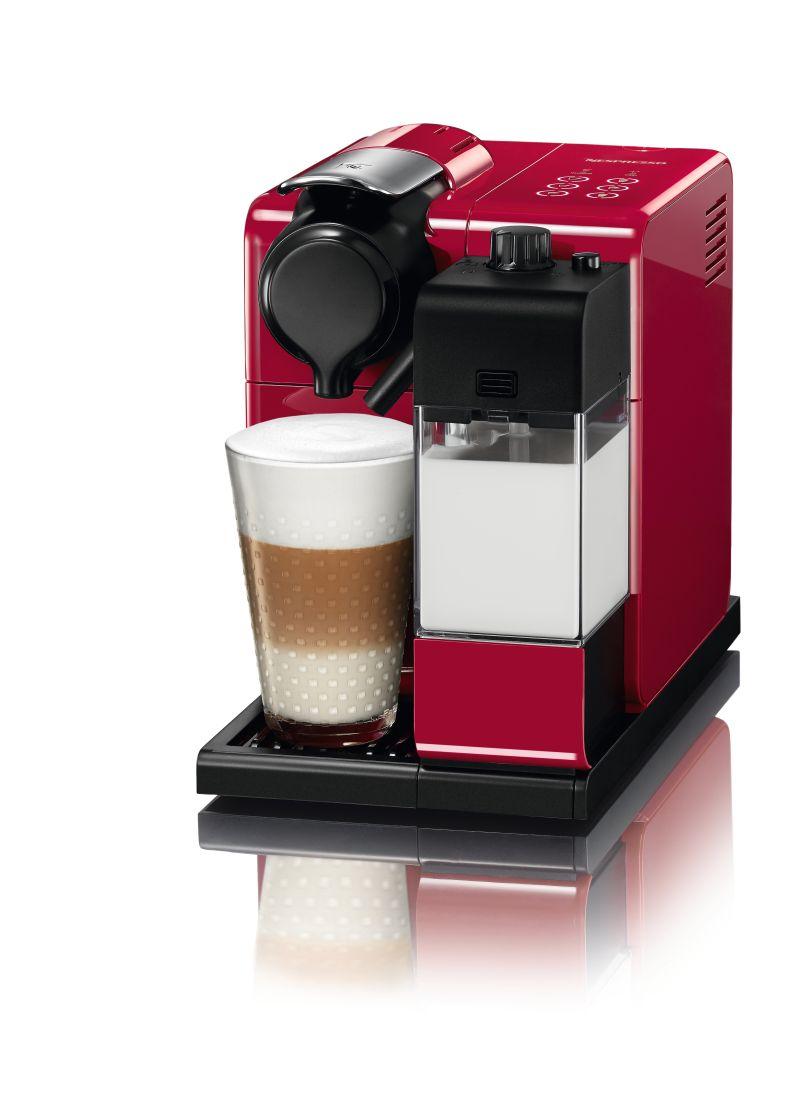 מכונת אספרסו Nespresso דגם Lattissima Touch F511 צבע אדום מהפנט - תמונה 1