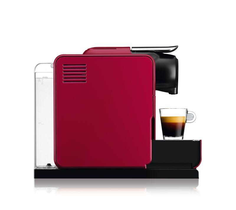 מכונת אספרסו Nespresso דגם Lattissima Touch F511 צבע אדום מהפנט - תמונה 2