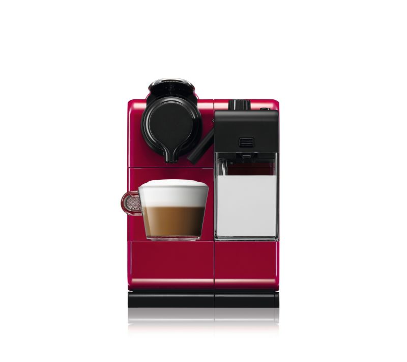 מכונת אספרסו Nespresso דגם Lattissima Touch F511 צבע אדום מהפנט - תמונה 3
