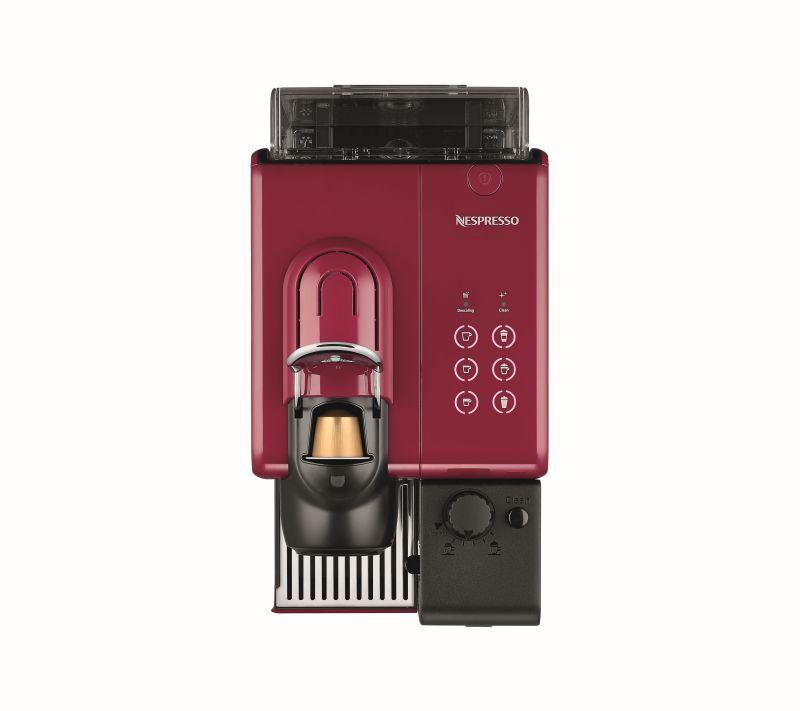 מכונת אספרסו Nespresso דגם Lattissima Touch F511 צבע אדום מהפנט - תמונה 4