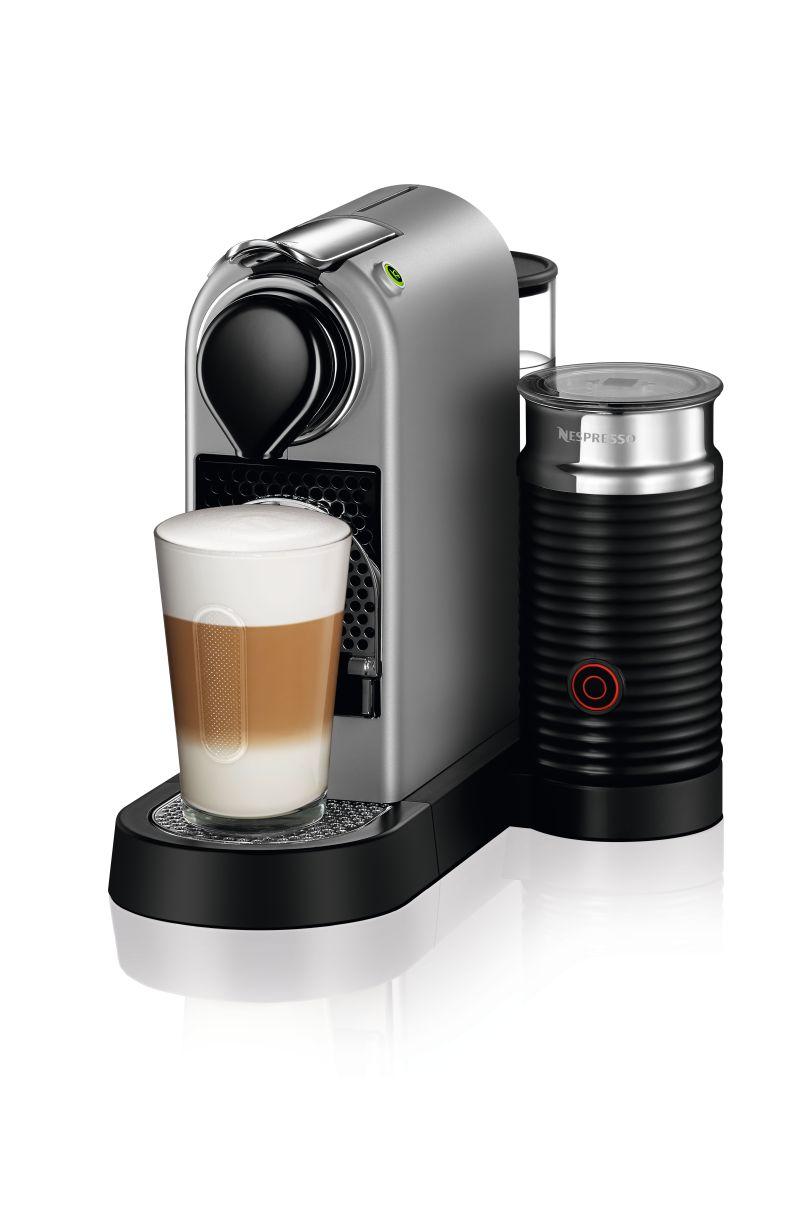 מכונת אספרסו Nespresso CitiZ & Milk C122 בצבע כסוף - תמונה 1