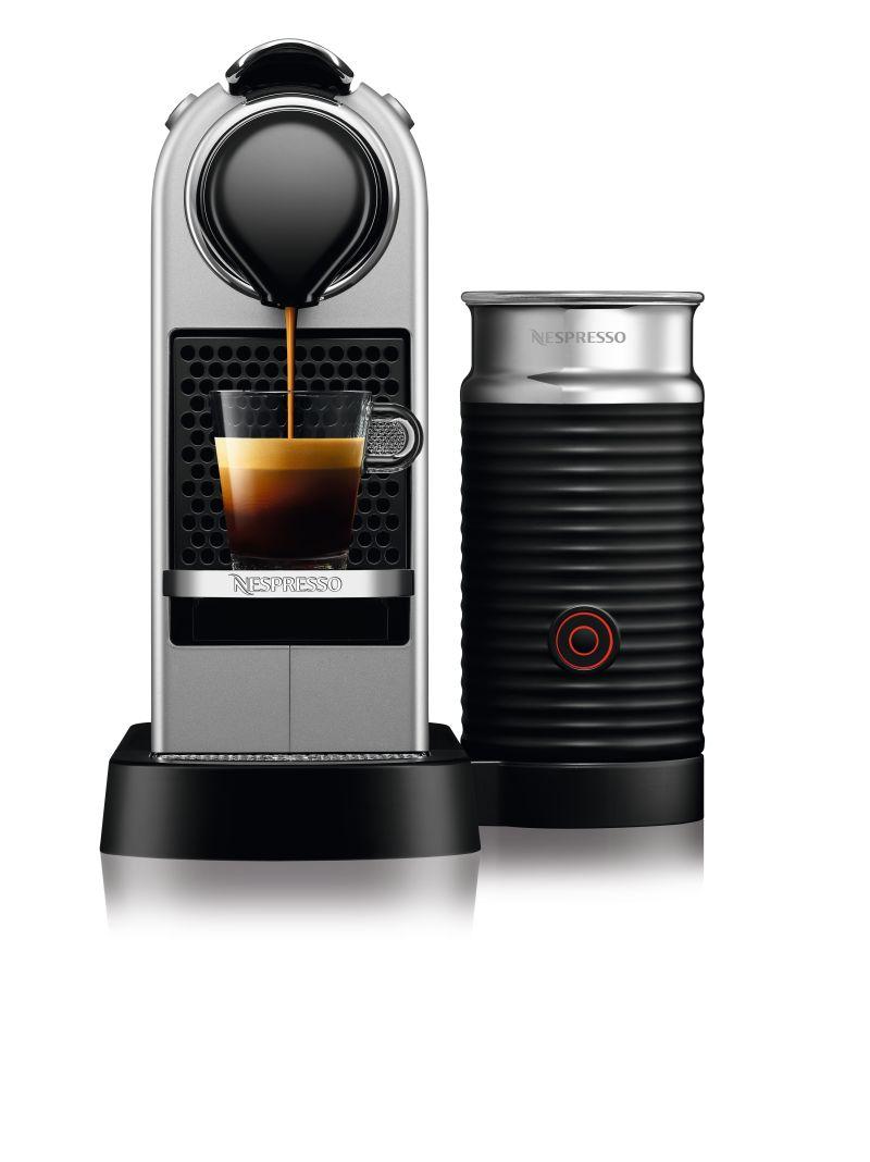 מכונת אספרסו Nespresso CitiZ & Milk C122 בצבע כסוף - תמונה 2