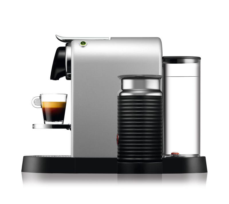מכונת אספרסו Nespresso CitiZ & Milk C122 בצבע כסוף - תמונה 3