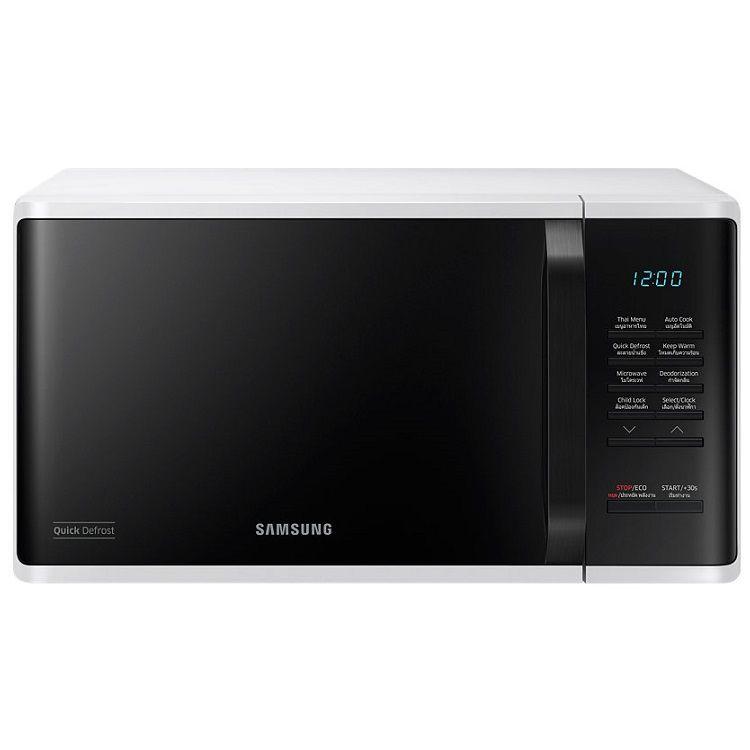 מיקרוגל דיגיטלי 23 ליטר Samsung דגם MS23K3513AW לבן