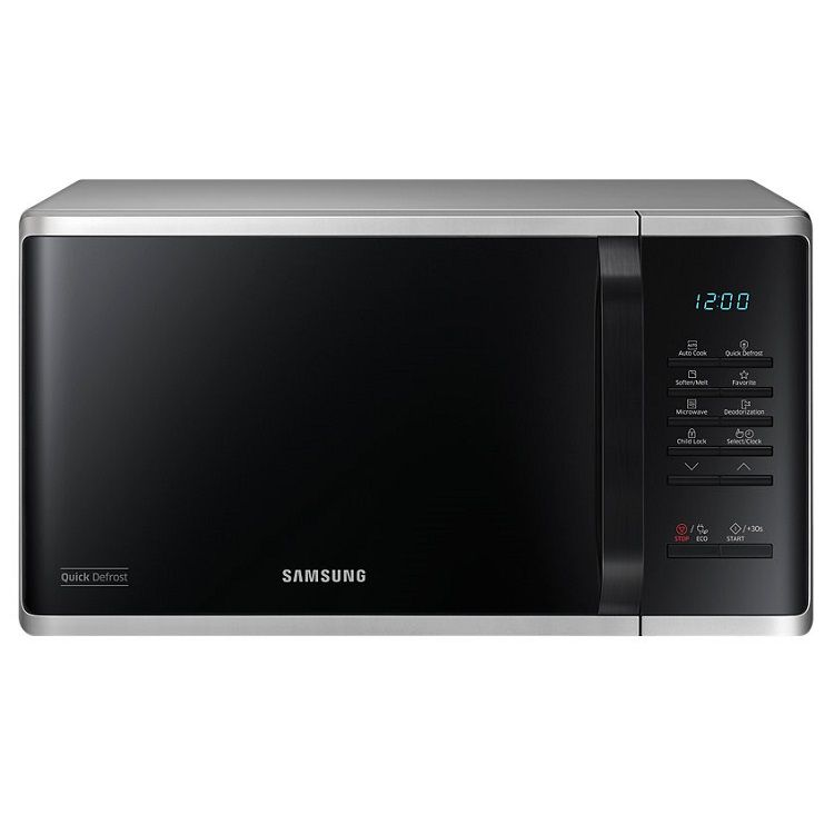 מיקרוגל דיגיטלי 23 ליטר Samsung דגם MS23K3513AS כסוף