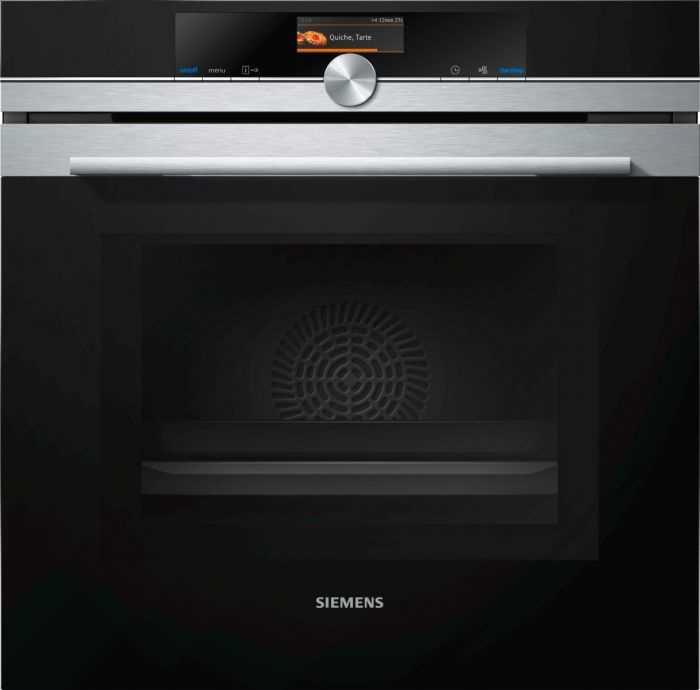 תנור בנוי פירוליטי משולב מיקרוגל 67 ליטר Siemens HM676G0S6 סימנס - תמונה 1