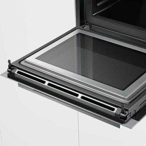 תנור בנוי פירוליטי משולב מיקרוגל 67 ליטר Siemens HM676G0S6 סימנס - תמונה 3