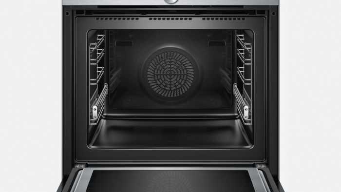 תנור בנוי פירוליטי משולב מיקרוגל 67 ליטר Siemens HM676G0S6 סימנס - תמונה 4