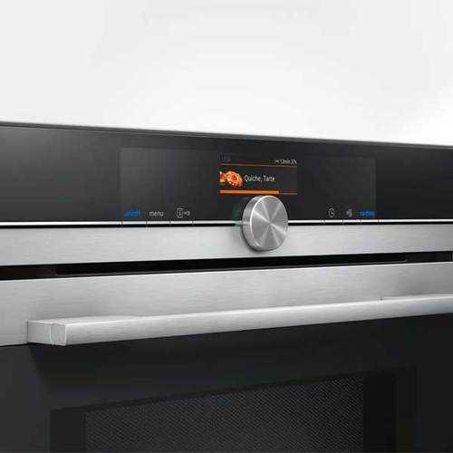 תנור בנוי פירוליטי משולב מיקרוגל 67 ליטר Siemens HM676G0S6 סימנס - תמונה 2