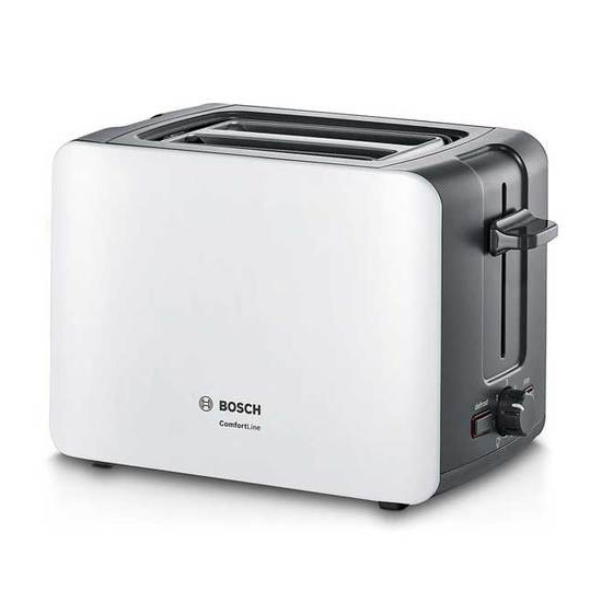 מצנם 2 פרוסות Bosch TAT6A111 לבן - תמונה 1
