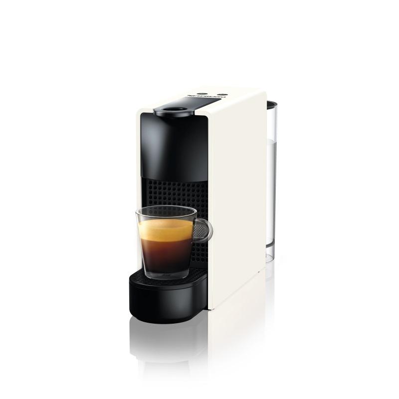 מכונת קפה Nespresso אסנזה מיני בצבע לבן דגם C30 - תמונה 1