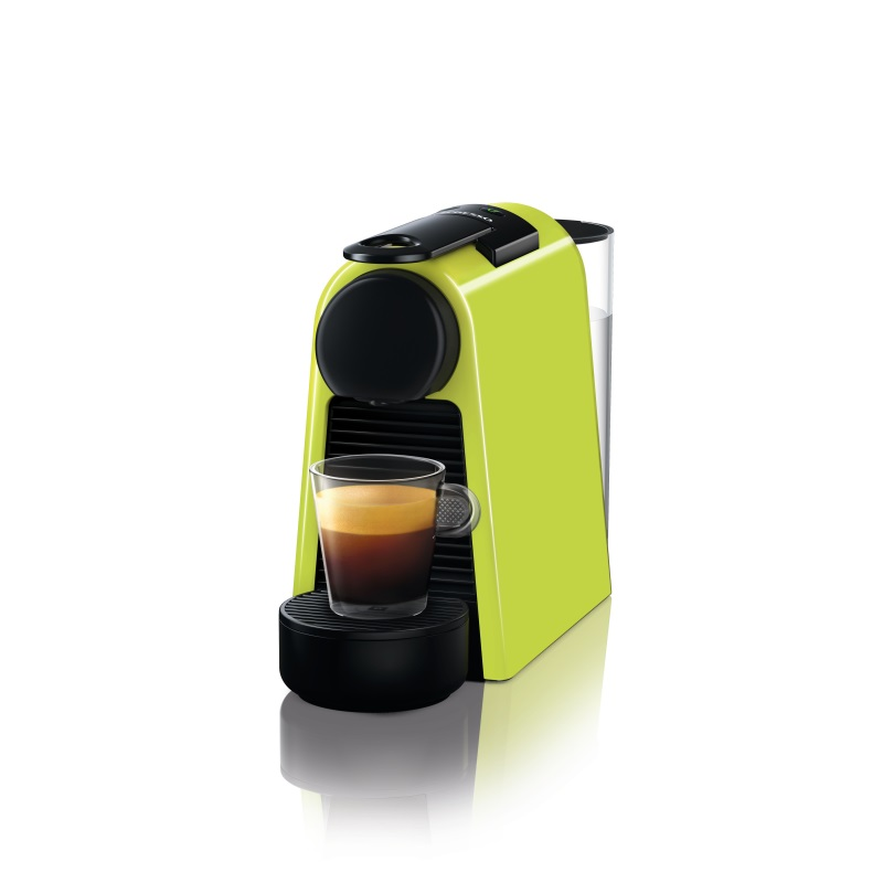 מכונת קפה Nespresso אסנזה מיני בצבע ירוק דגם D30 - תמונה 1