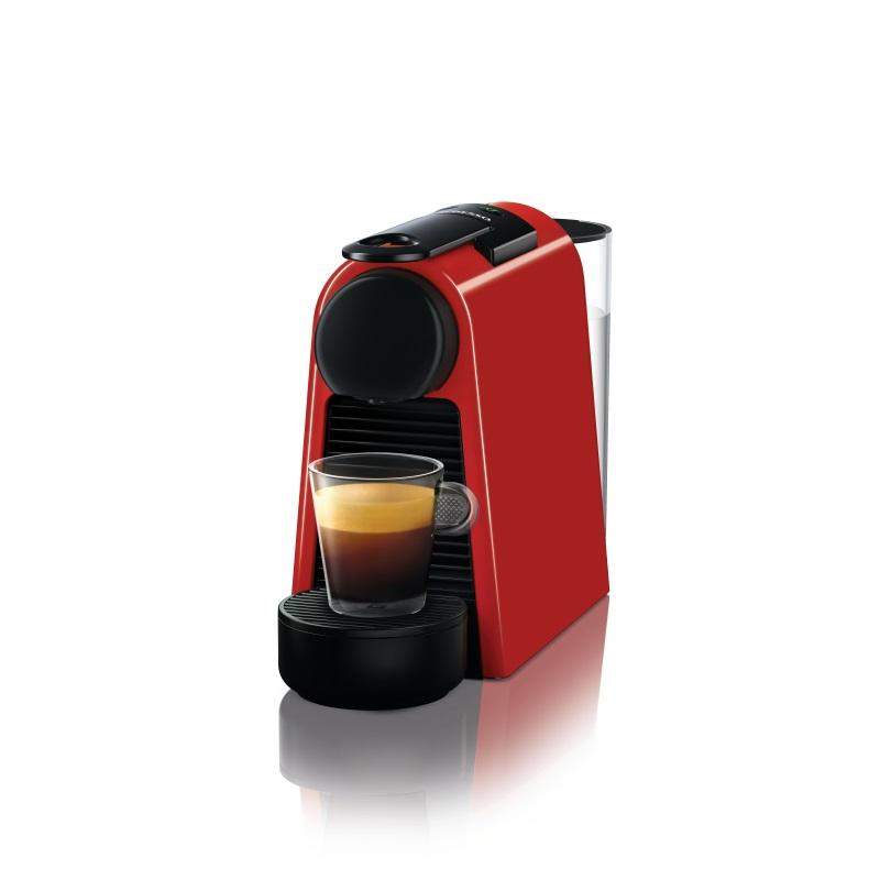 מכונת קפה Nespresso אסנזה מיני בצבע אדום דגם D30 - תמונה 1