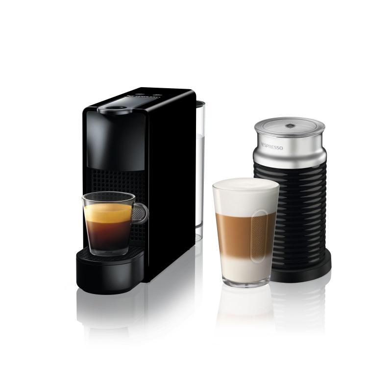 מכונת אספרסו Essenza Mini C30 כולל מקציף צבע שחור Nespresso נספרסו - תמונה 1