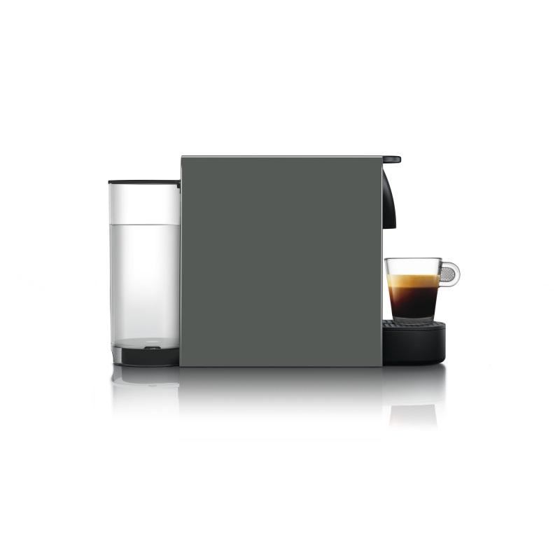 מכונת קפה Nespresso אסנזה מיני בצבע אפור דגם C30 כולל מקציף חלב ארוצ'ינו - תמונה 2