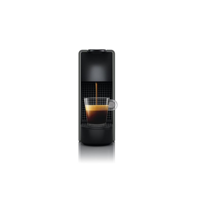 מכונת קפה Nespresso אסנזה מיני בצבע אפור דגם C30 כולל מקציף חלב ארוצ'ינו - תמונה 4