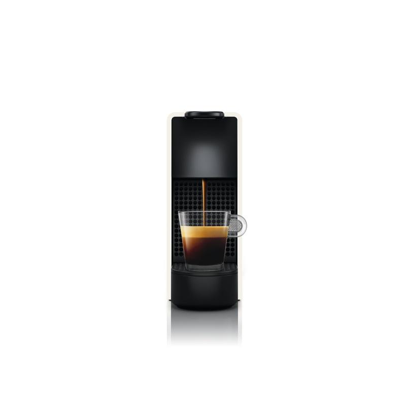 מכונת קפה Nespresso אסנזה מיני בצבע לבן דגם כולל מקציף חלב ארוצ'ינו - תמונה 4