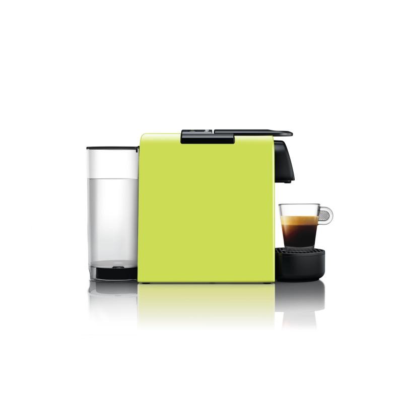 מכונת קפה Nespresso אסנזה מיני בצבע ירוק דגם D30 כולל מקציף חלב ארוצ'ינו - תמונה 2