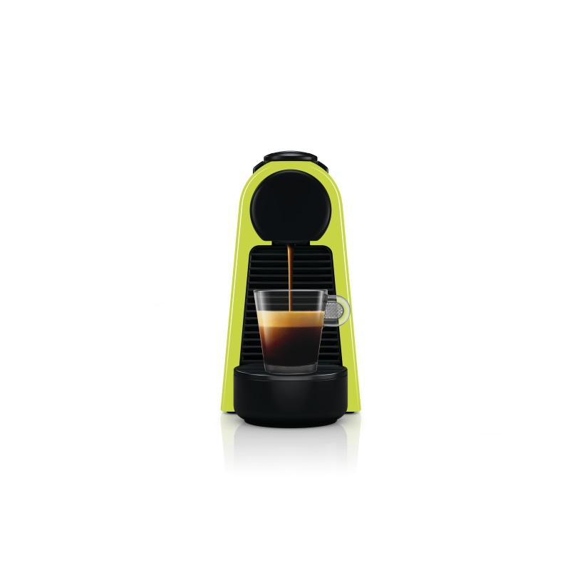 מכונת קפה Nespresso אסנזה מיני בצבע ירוק דגם D30 כולל מקציף חלב ארוצ'ינו - תמונה 4