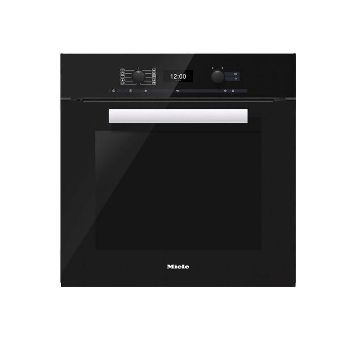 תנור בנוי פירוליטי Miele מילה H2661BP BLACK שחור - תמונה 1