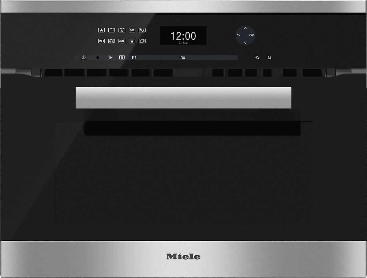 תנור בנוי משולב מיקרו Miele מילה H6401BM - תמונה 1