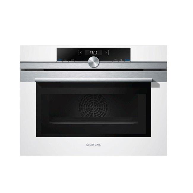 תנור בנוי משולב מיקרוגל Siemens סימנס CM633GBW1 - תמונה 1