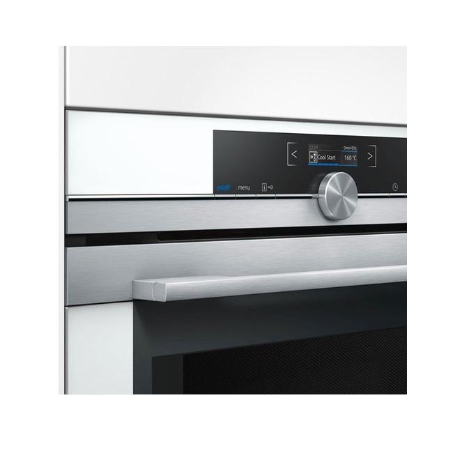 תנור בנוי משולב מיקרוגל Siemens סימנס CM633GBW1 - תמונה 2