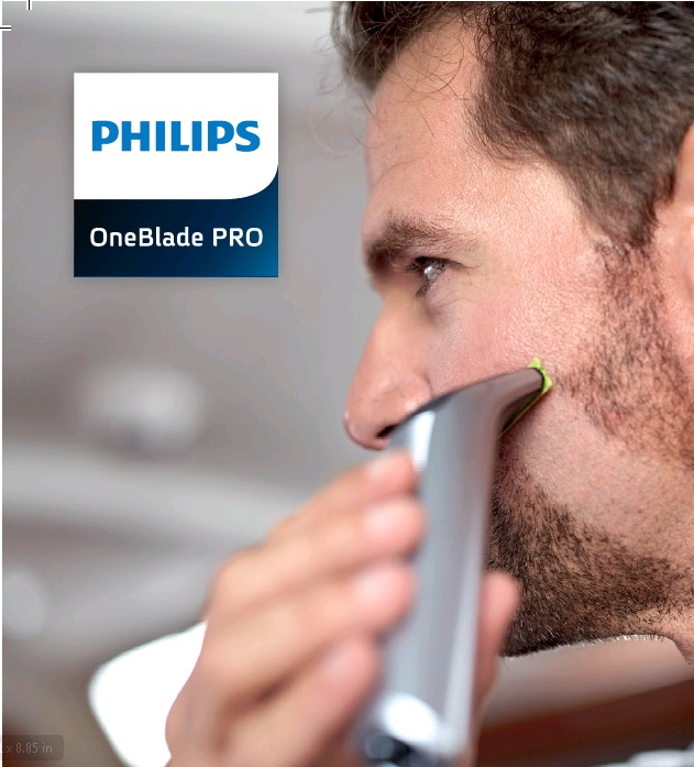 מכונת גילוח פיליפס ONE BLADE QP6520 - תמונה 4