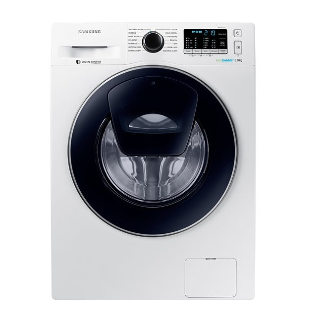 מכונת כביסה פתח חזית Samsung סמסונג WW80K5410UW - תמונה 1
