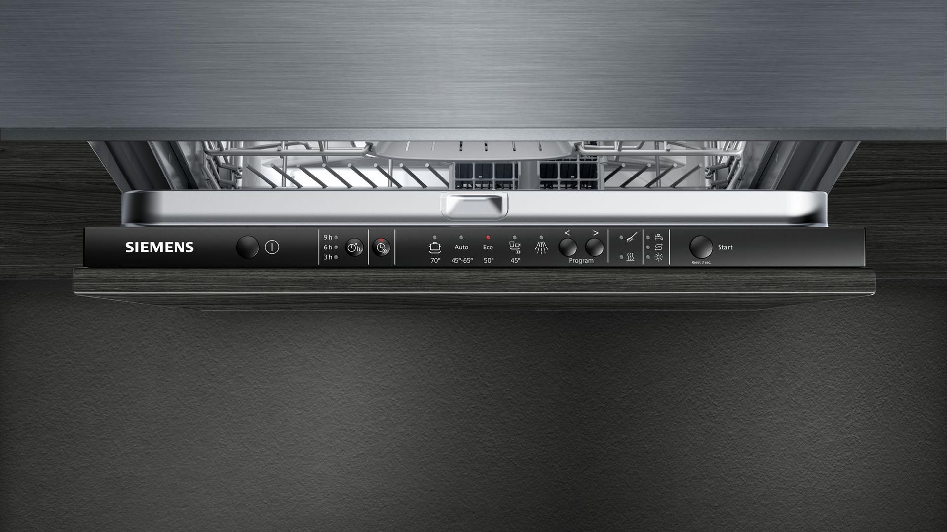 מדיח כלים רחב אינטגרלי 13 מע' כלים Siemens SN615X02CE סימנס - תמונה 5
